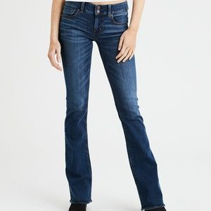 American Eagle Artist Flare Jeans- Extra Long